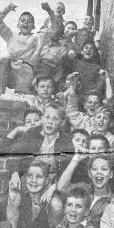 shouting boys old old